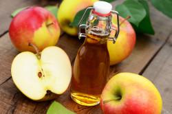Применение яблочного уксуса в борьбе с грибком