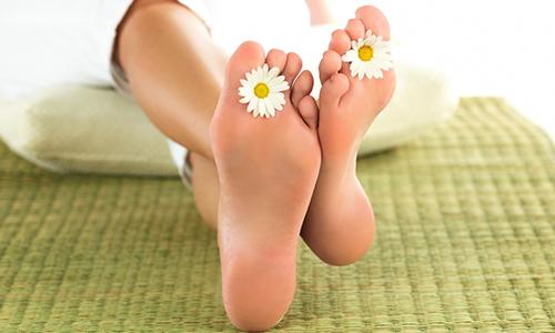 Стопы ног - уязвимое для грибка место