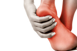 Горячие ступни при воспалении сухожилий