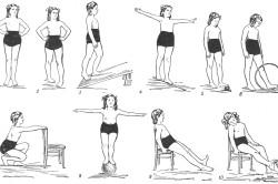 Гимнастика для лечения плоскостопия