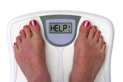 Лишний вес - причина трещин на пятках