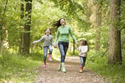 Польза прогулок для формирования стоп
