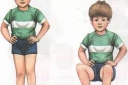 Приседания, не отрывая пяток от пола, от плоскостопия у детей