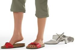 Ношение ортопедической обуви после операции