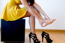 Некомфортная обувь как причина подошвенного фасцита