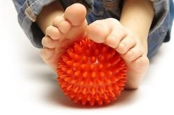 Мяч массажный для профилактики плоскостопия