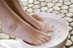 Ванночки с хозяйственным мылом для лечения пяточной шпоры