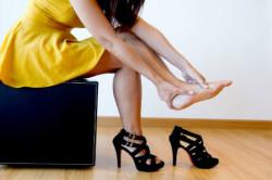 Болезненность при ношении обуви при плоскостопии