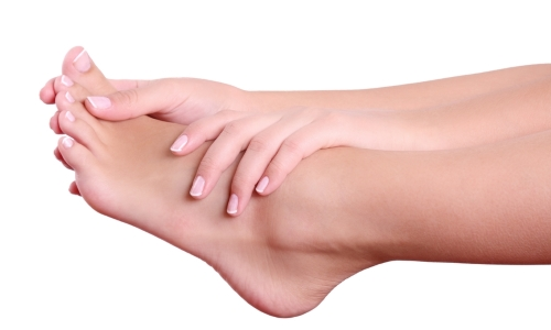 Проблема натоптышей на пальцах ног
