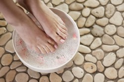 Содовые ванночки при пяточной шпоре
