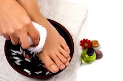 Лечебные ванночки для ног перед проведением вечерней зарядки